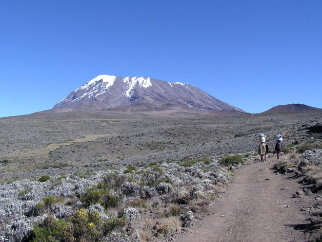 Kilimanjaro shoot