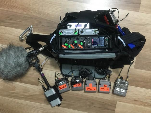 Mixer setup