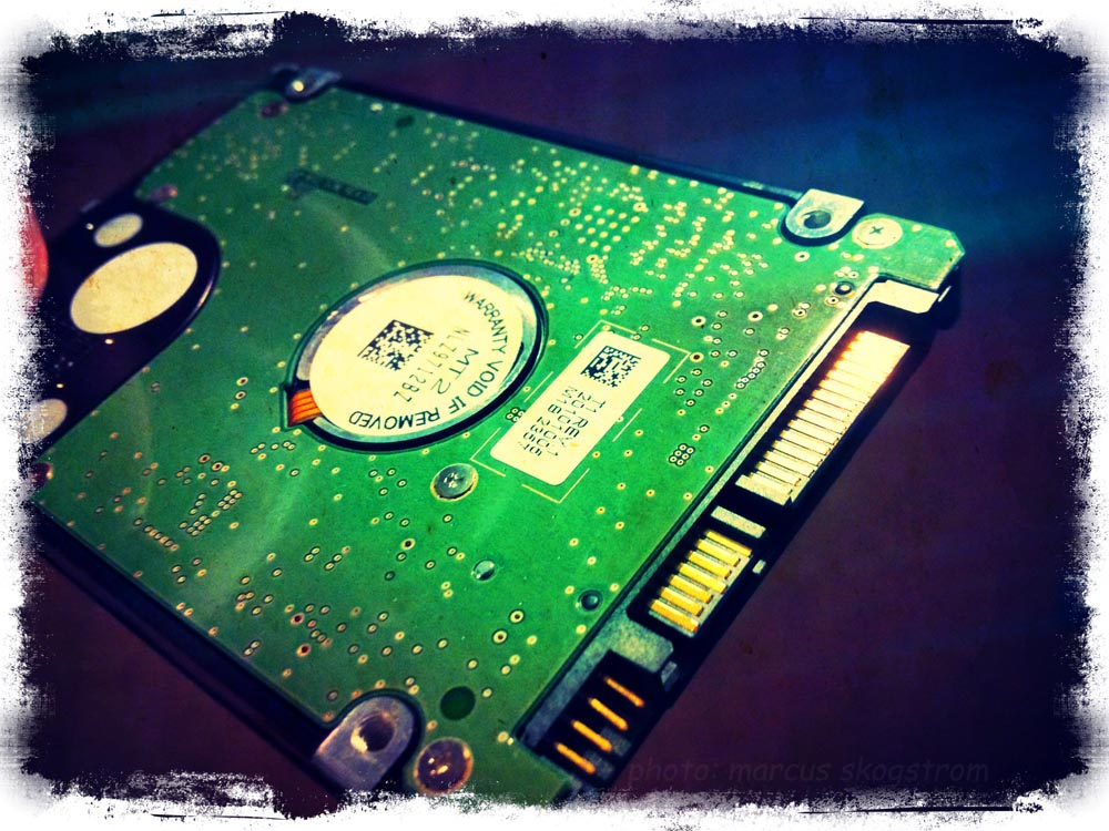 Hard Drive Failure – Backup?!