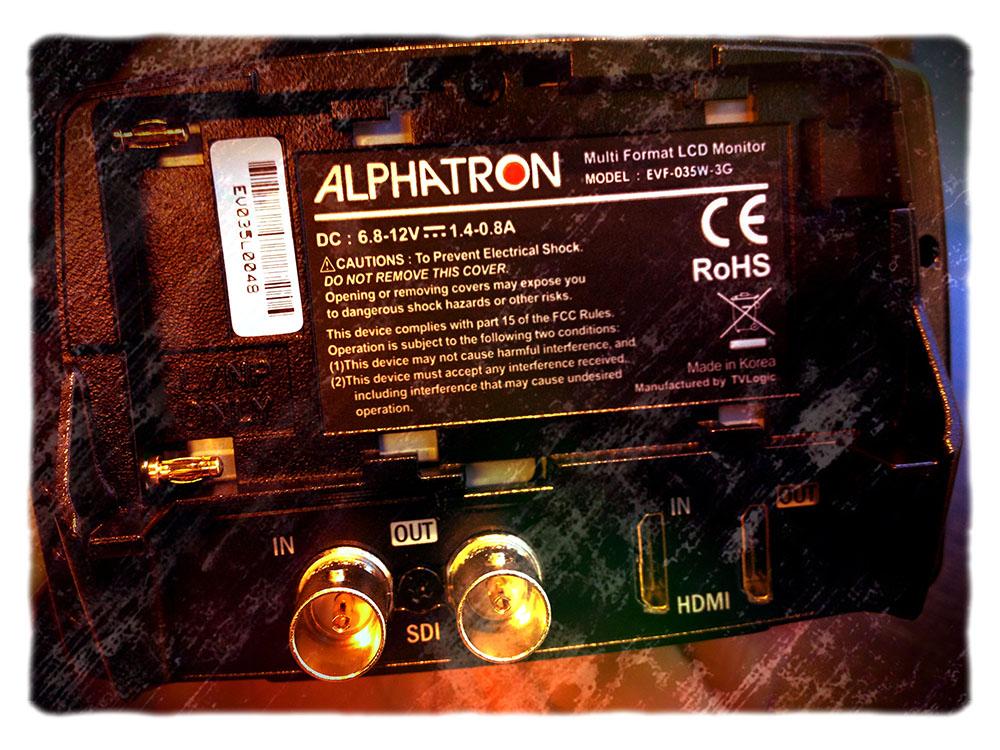 Alphatron EVF – First look