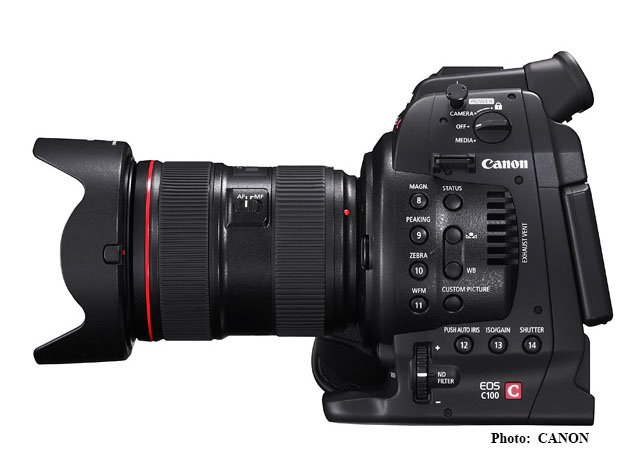 More video from Canon – C100
