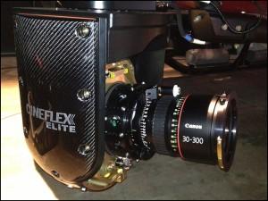 30-300 lens mounted to Cineflex.  Arri Alexa M.