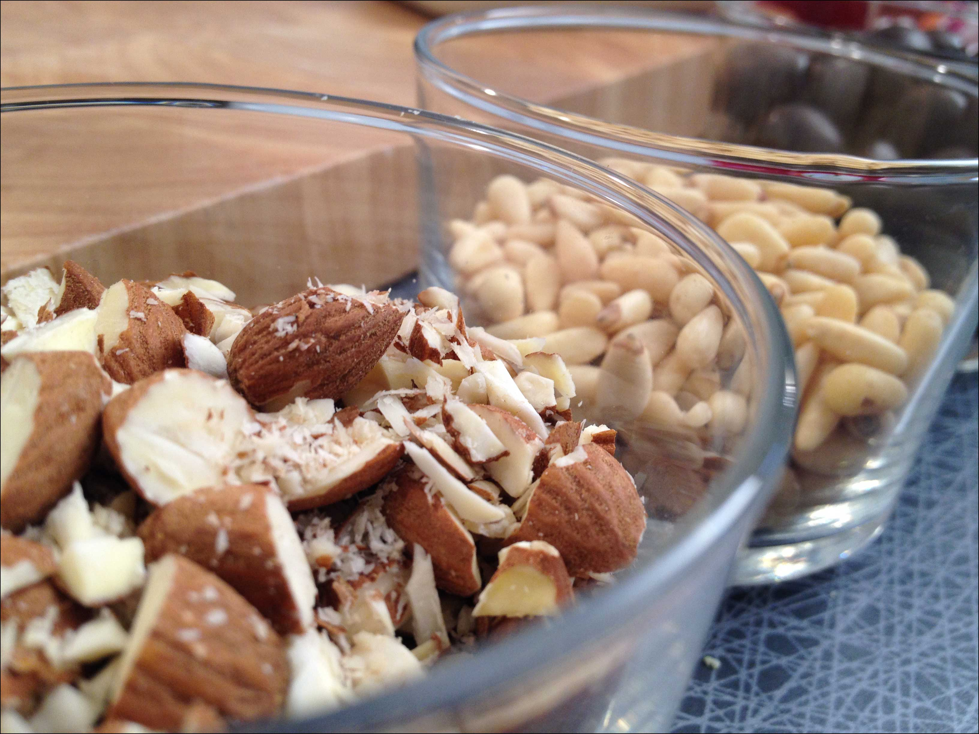 Going nuts in the kitchen