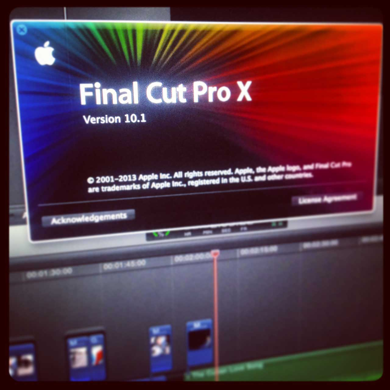 Looking at FCPX