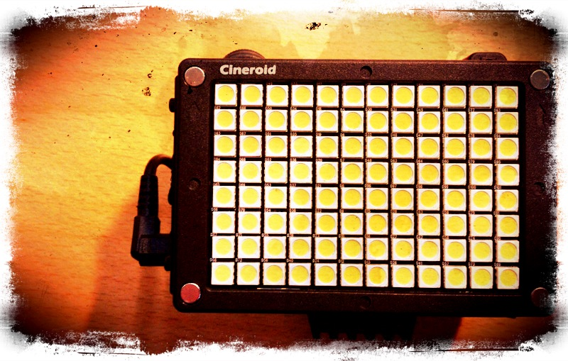 Cineroid LED light- First Look
