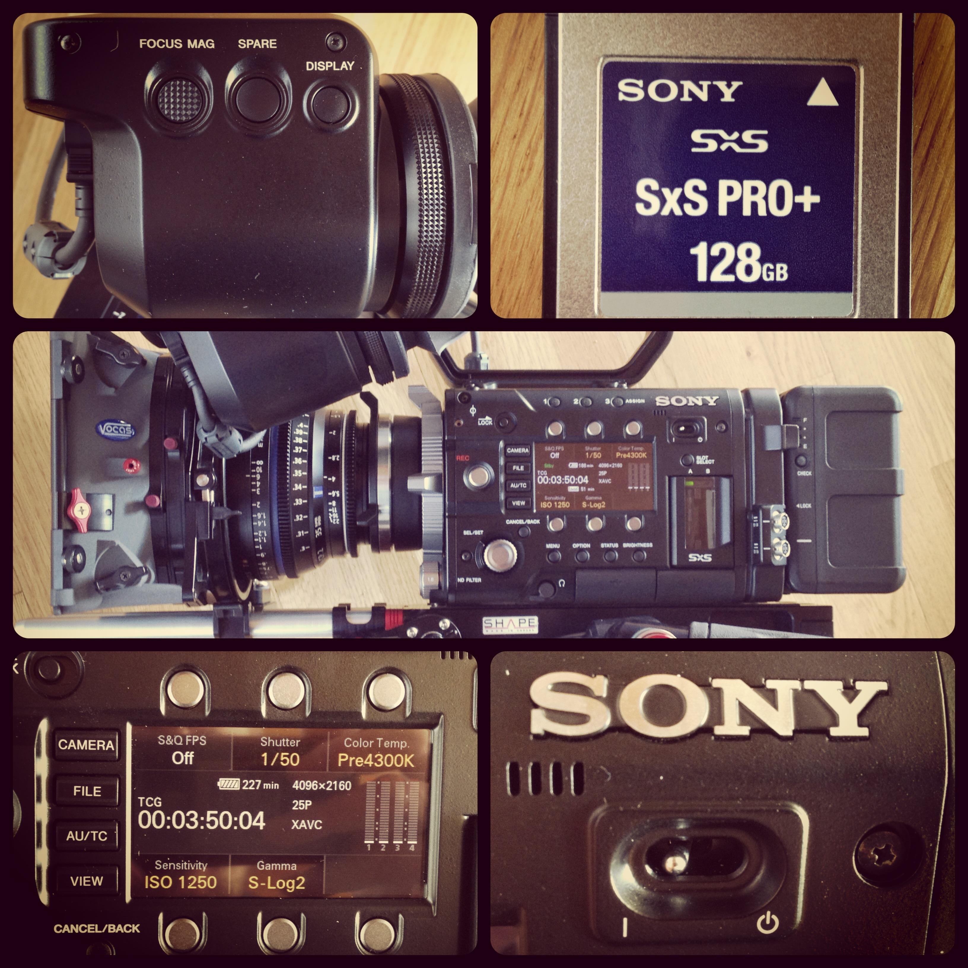 Sony F55 – Playtime
