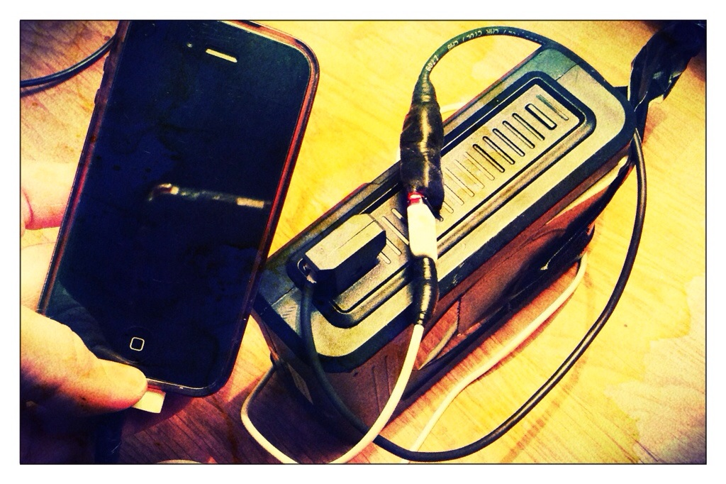 How do you power your iPhone??