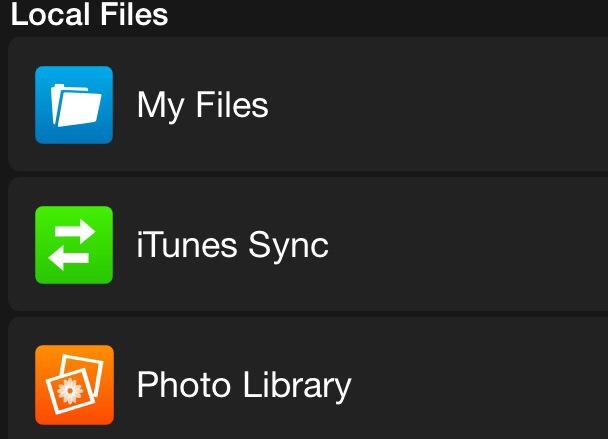 Browse app iOS