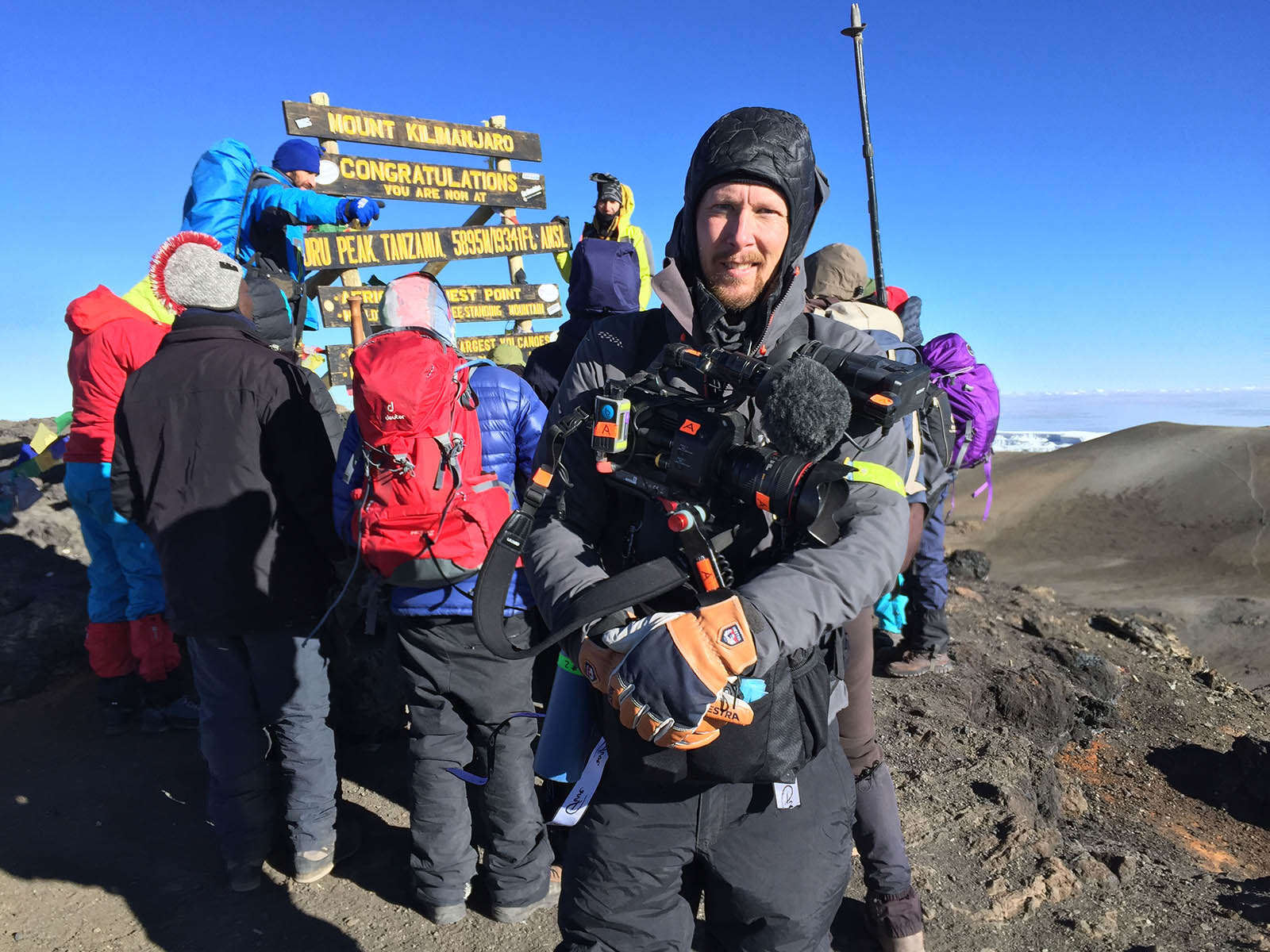 I made it! Kilimanjaro!!